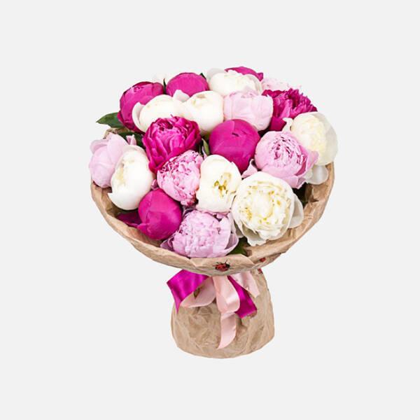 Заказ цветов астана пионы